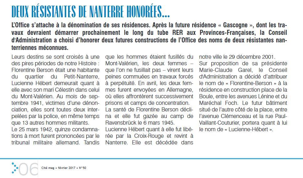 Cité Mag Février 2017 n°50