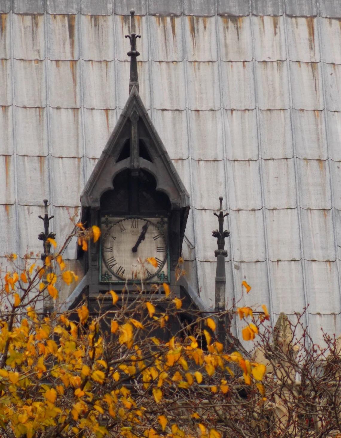 Horloge dos de Notre Dame de Paris