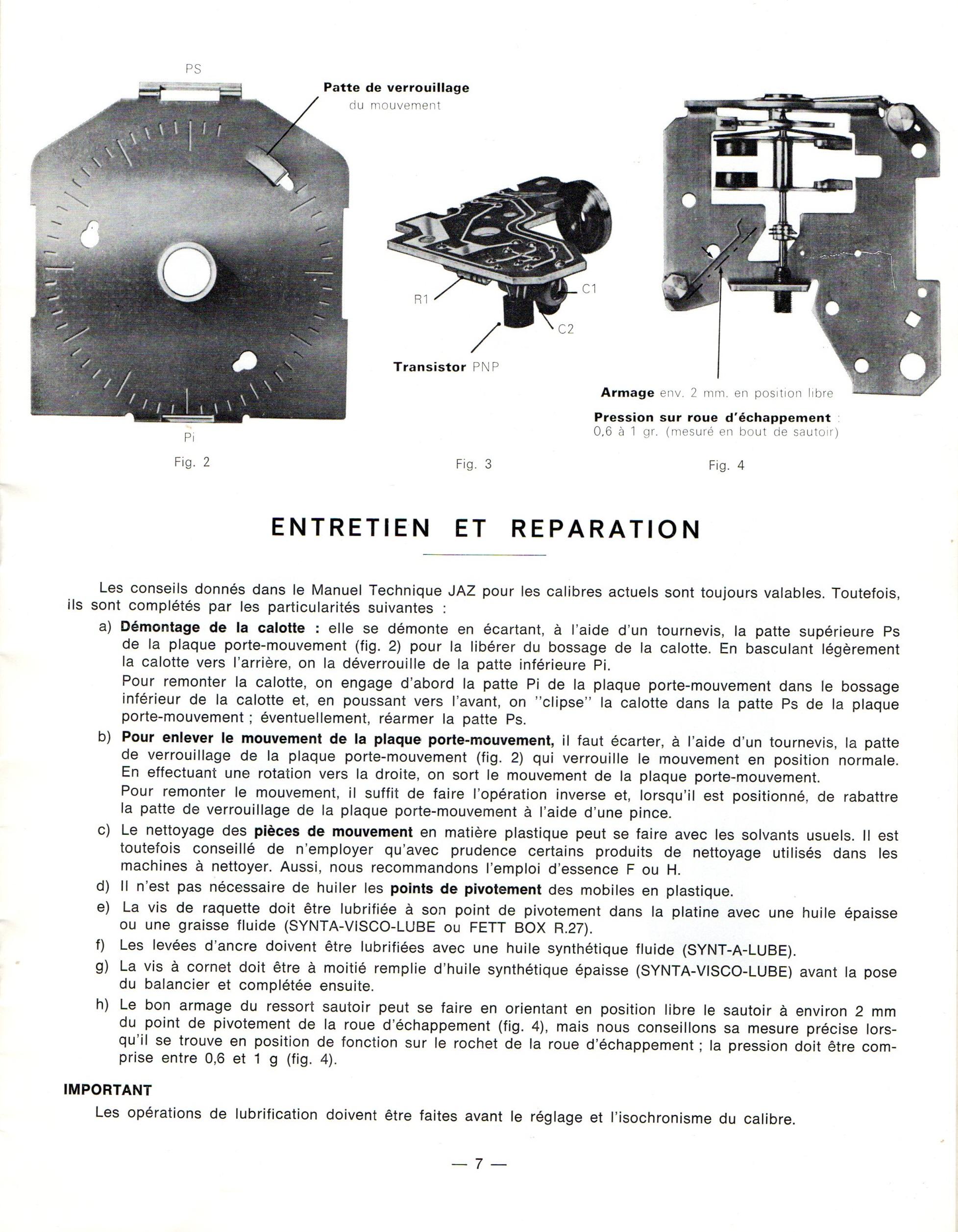 Jaz électronique et électrique TM Sm et dérivés 1973 page 7