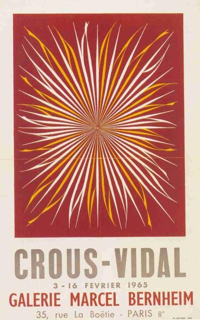crous affiche 1965