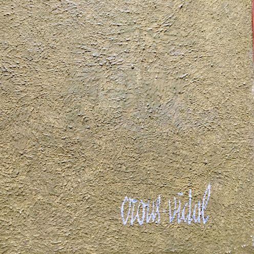crous vidal toîle signature