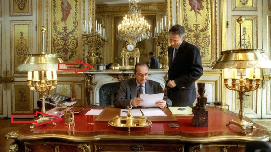 Elysée Chirac villepin1994