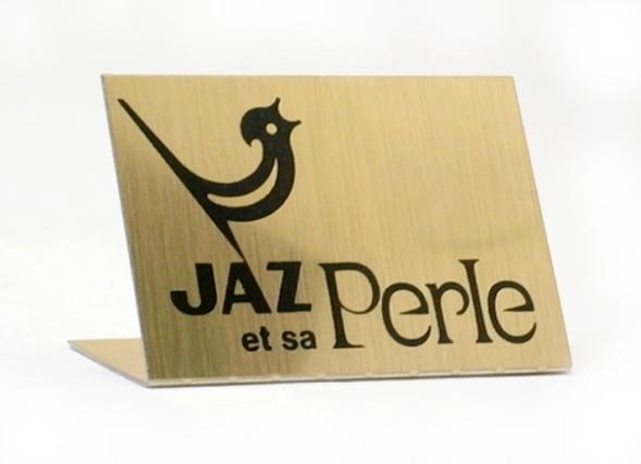 etiquette Jaz et sa Perle