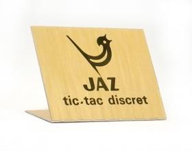 etiquette tic tac discret