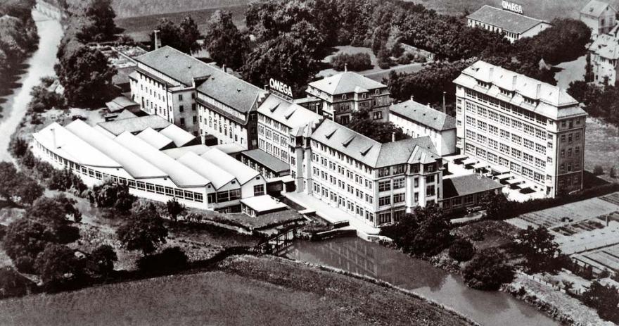 Omega-Bienne-factory-in-1950