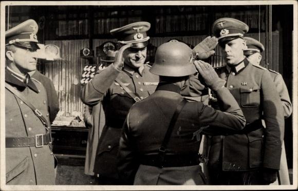 Jaz officiers allemands