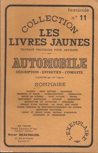 livresjaunes automobile