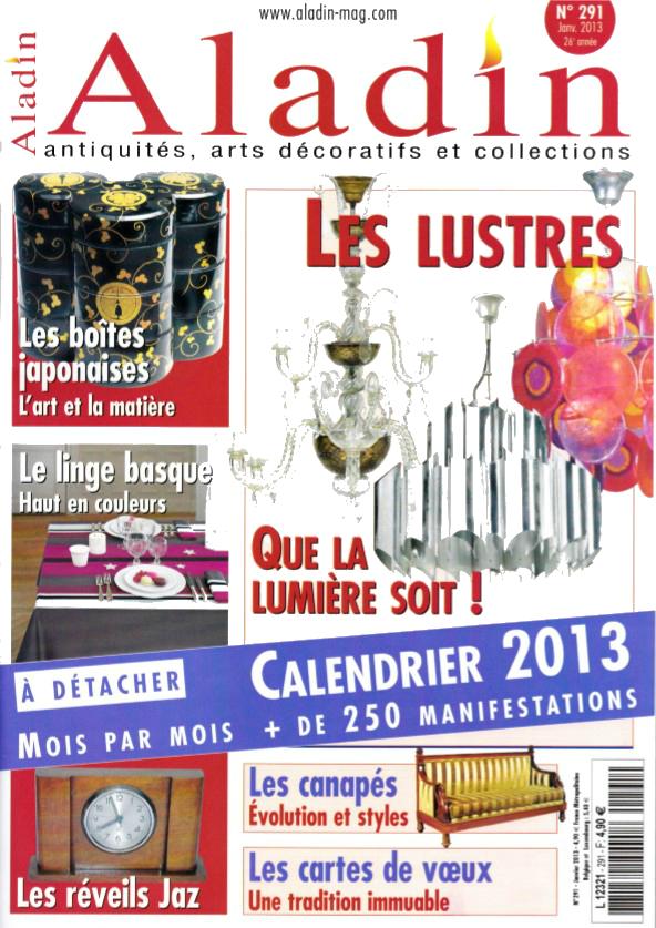 Aladin n°291 Janvier 2013 26° année page 0 une
