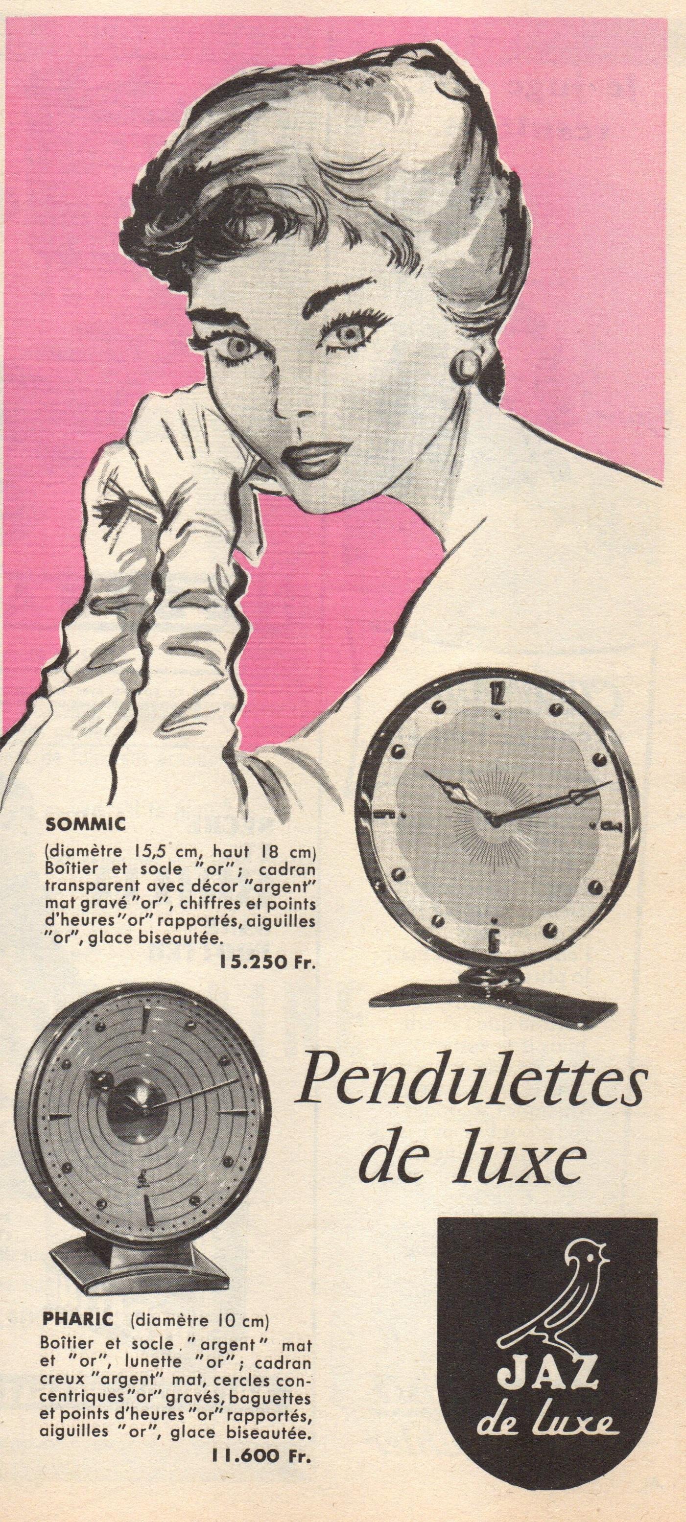 modes & travaux Juin 1956
