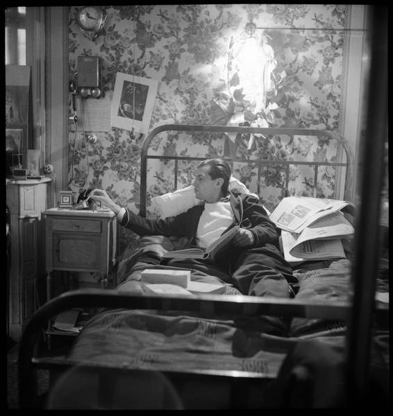 Serge Lifar chez lui (2)