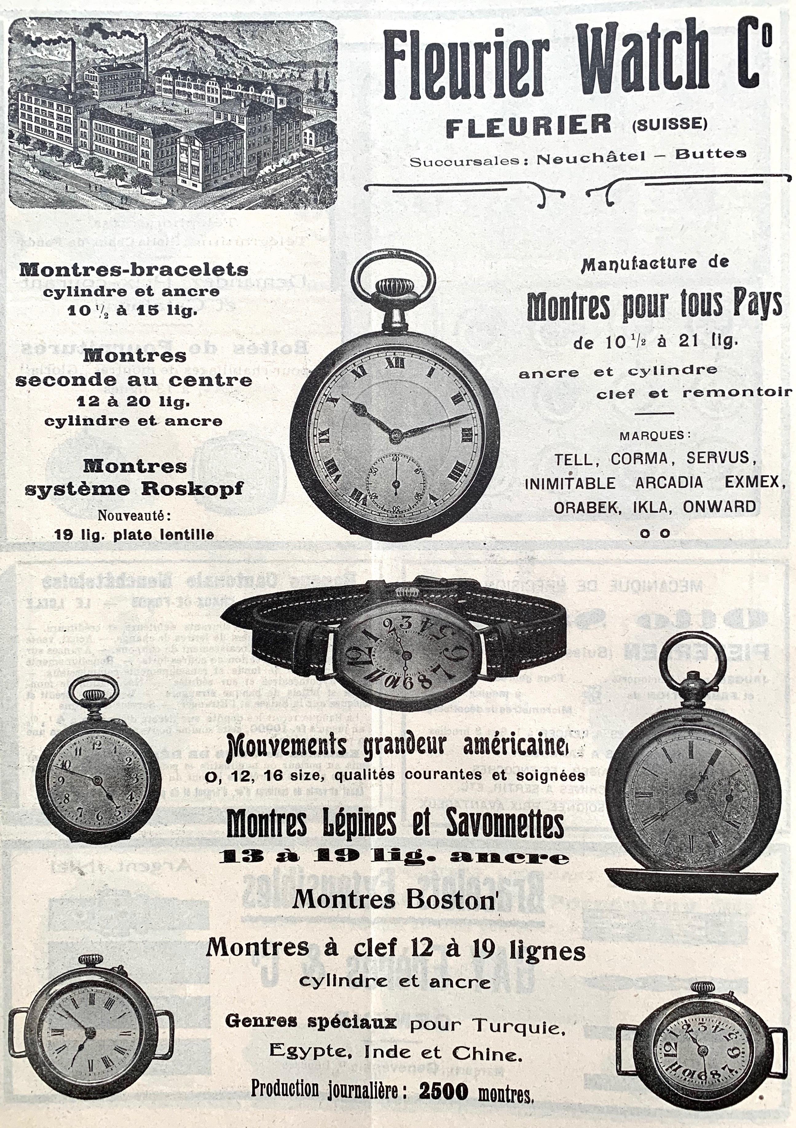 1920 Fleurier_Watch_montres_lepine 1920
