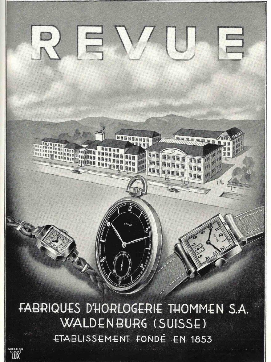 1939 Revue_Thommen_waldenburg_1939