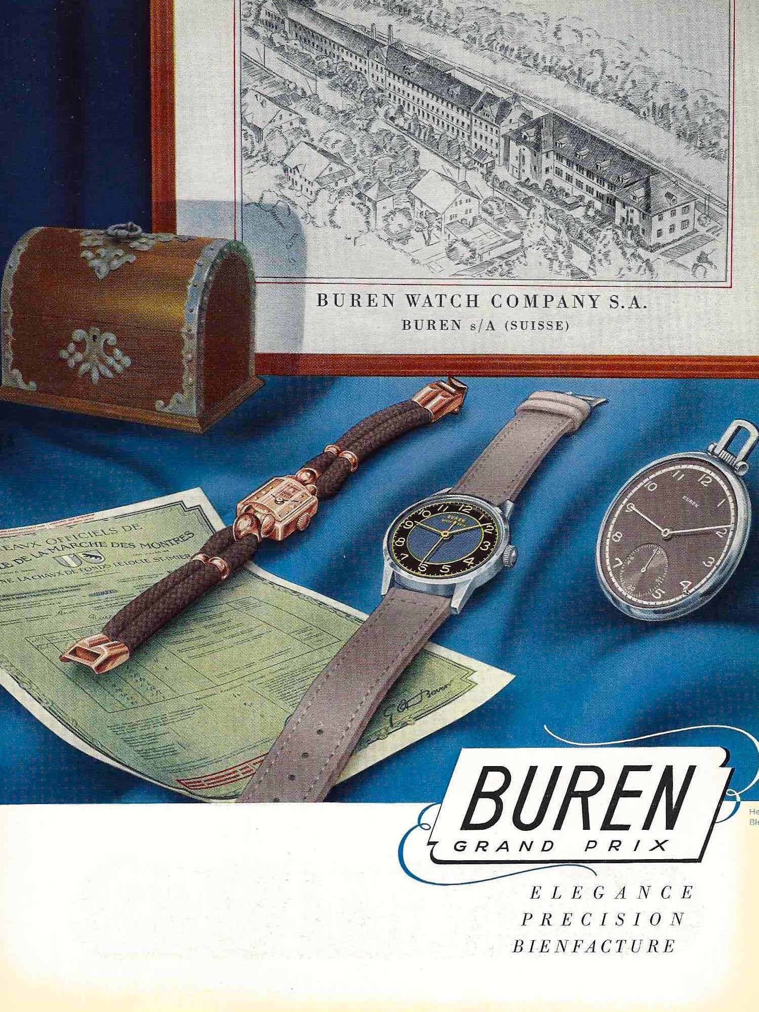 1942 Buren_watch_company_1942