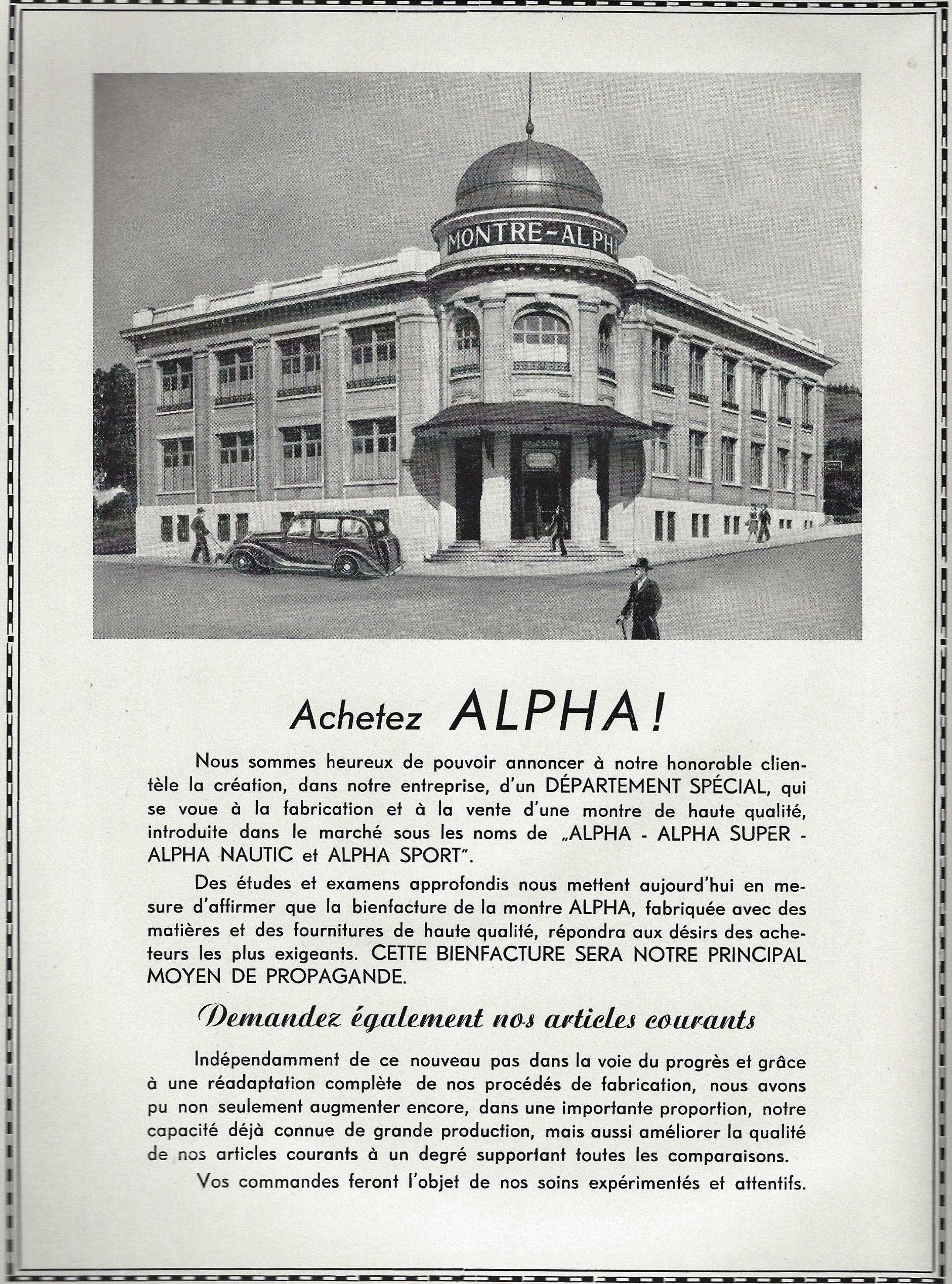 1949 Alpha_montres_1949