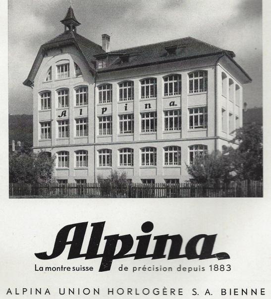 1949 Alpina_Union_Horlogere_Bienne 1949