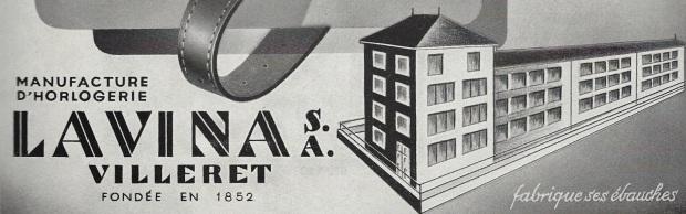 1949 Lavina_Villeret_SA Pub1949