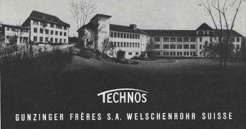 1955 Technos_Gunzinger_Freres_Welschenrohr_1955