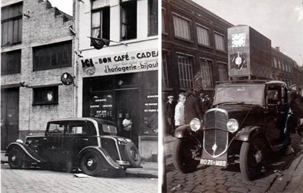 bousquet café et voiture