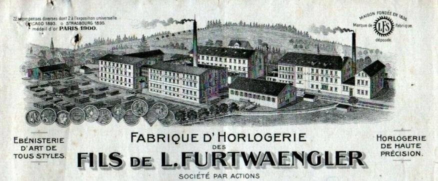 FURTWANGEN-ALLEMAGNE-USINE-dHORLOGERIE-Fils-de-L-FURTWAENGLER