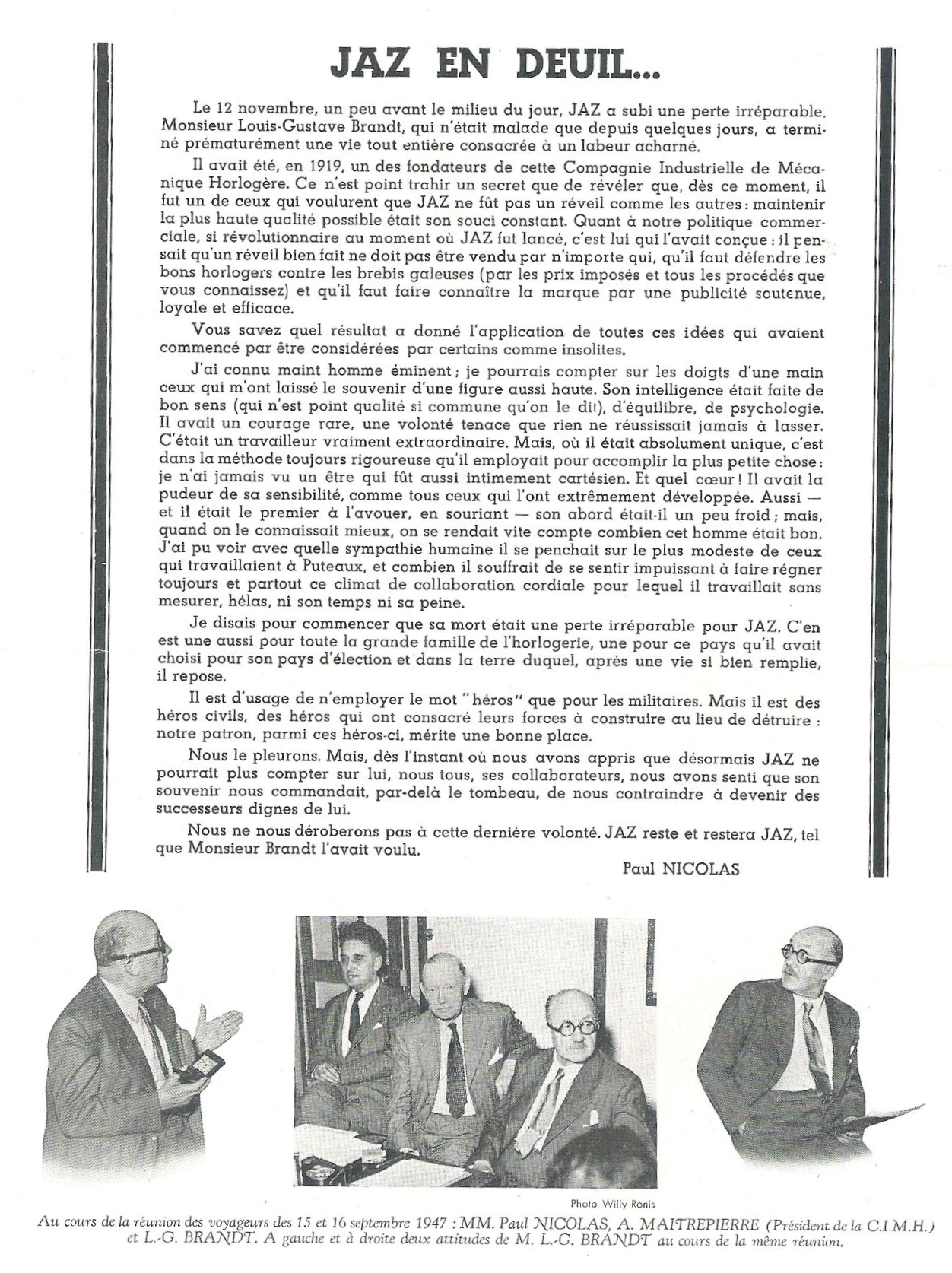 Jazette déc 1947 page 2