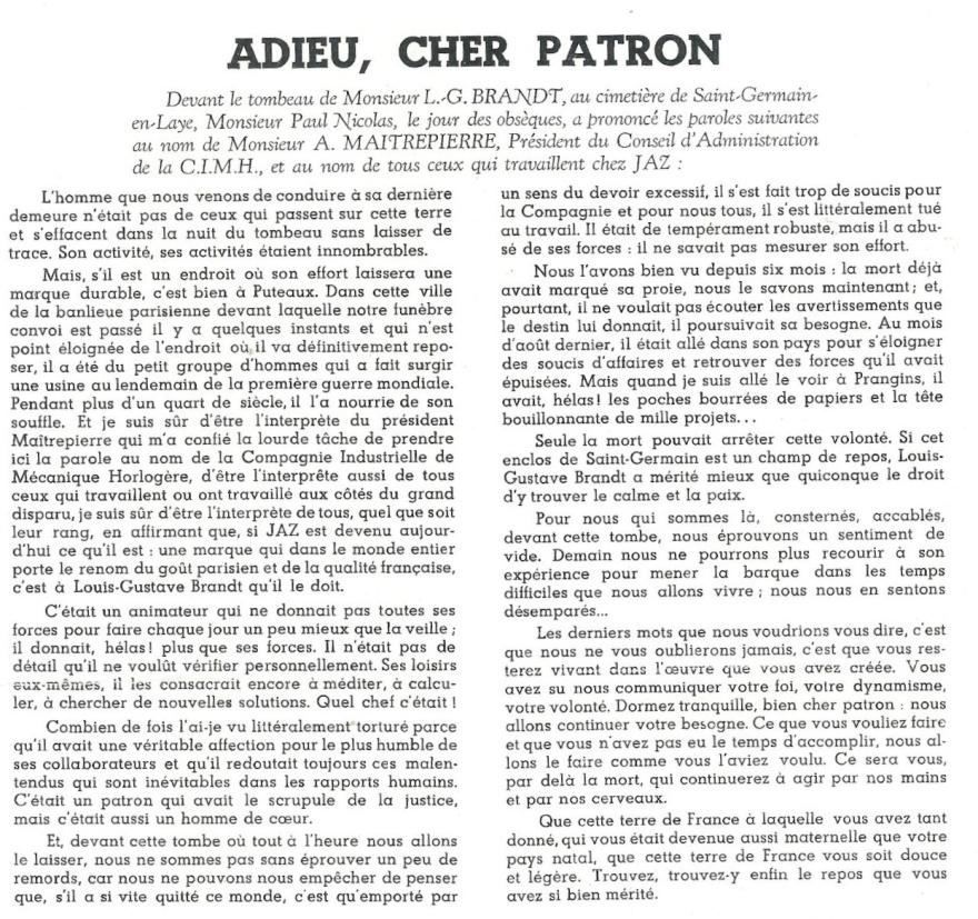 Jazette déc 1947 page 4 Brandt