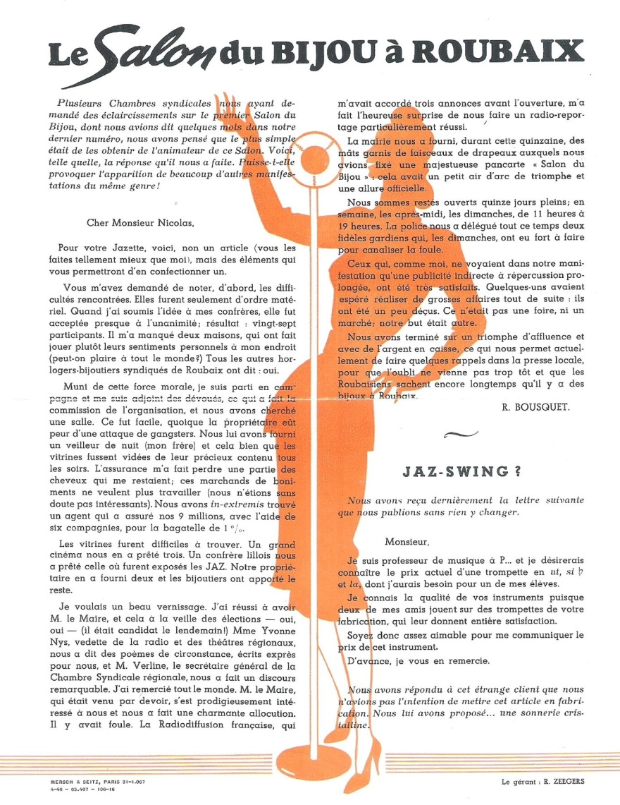 Jazette n°10 Avril 1946 page 4