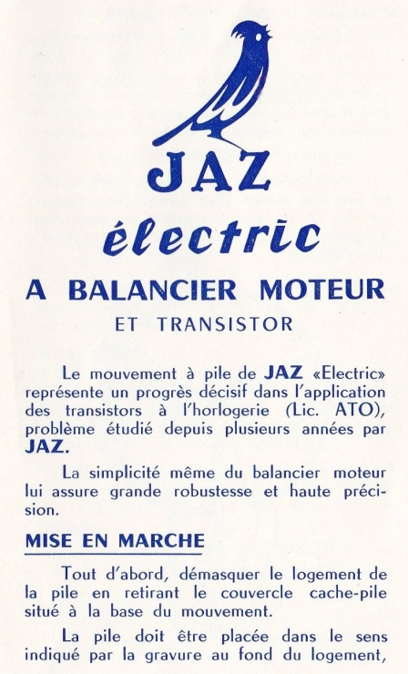 notice 1 Electric balancier moteur