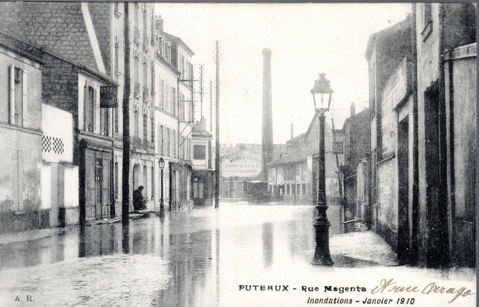 puteaux inodation 1910
