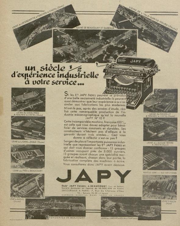 usines Japy