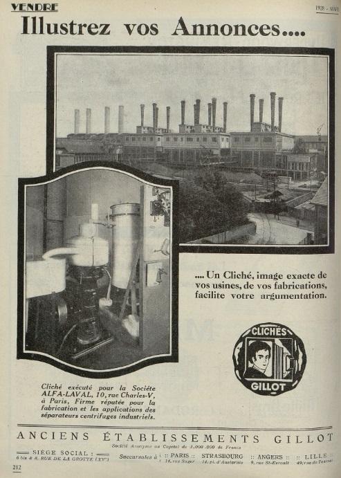 Usines Mars 1928