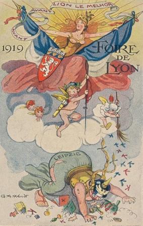 1919 foire de Lyon propagande 2