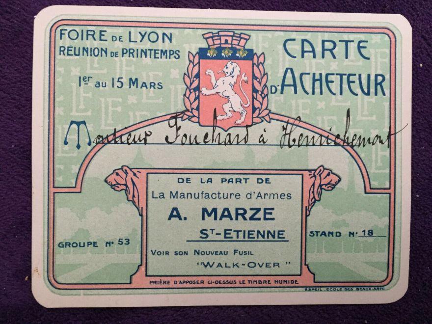 1920 carte-d'acheteur