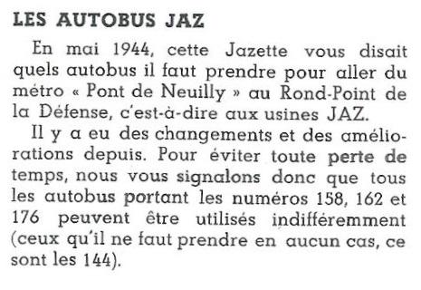 autobus Jazette n°10 Avril 1946 page 2