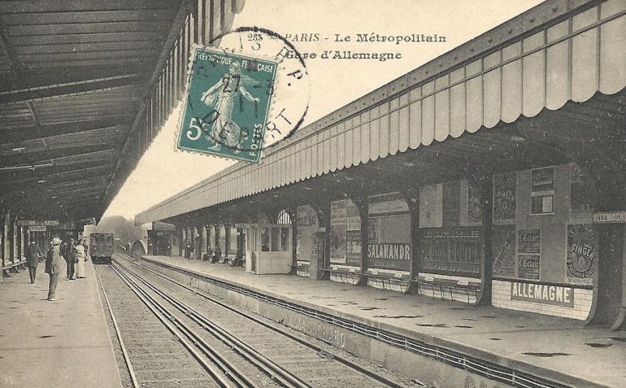 Station Allemagne