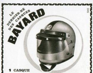 Bayard casque