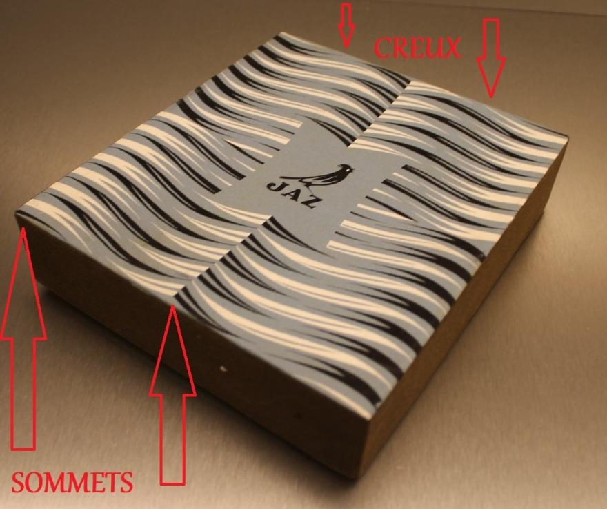 boîte prototype Crous-Vidal sommets et creux