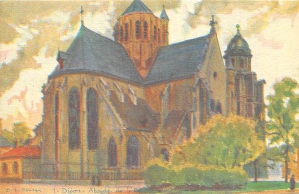Dijon abside Saint Michel
