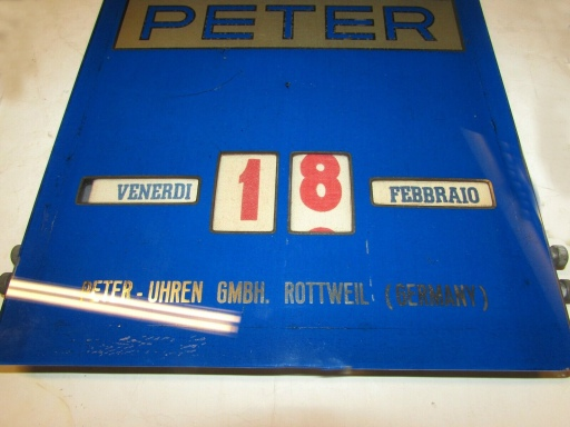 Peter calendar