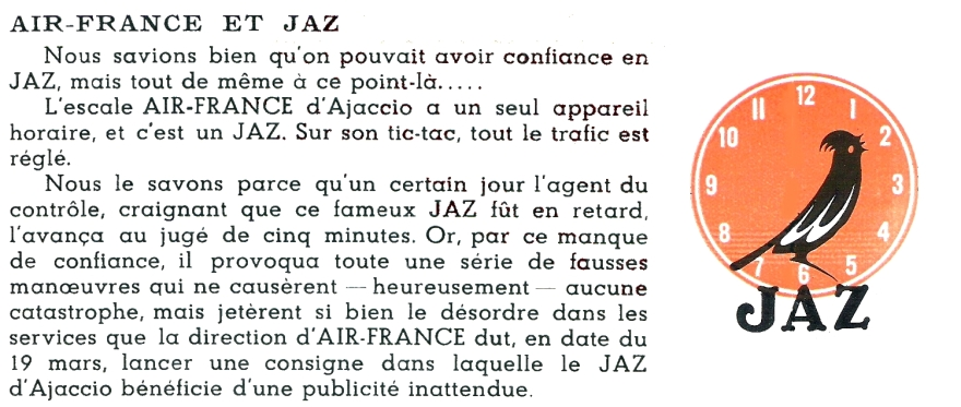 air france et jaz