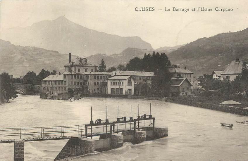 barrage et usine carpano