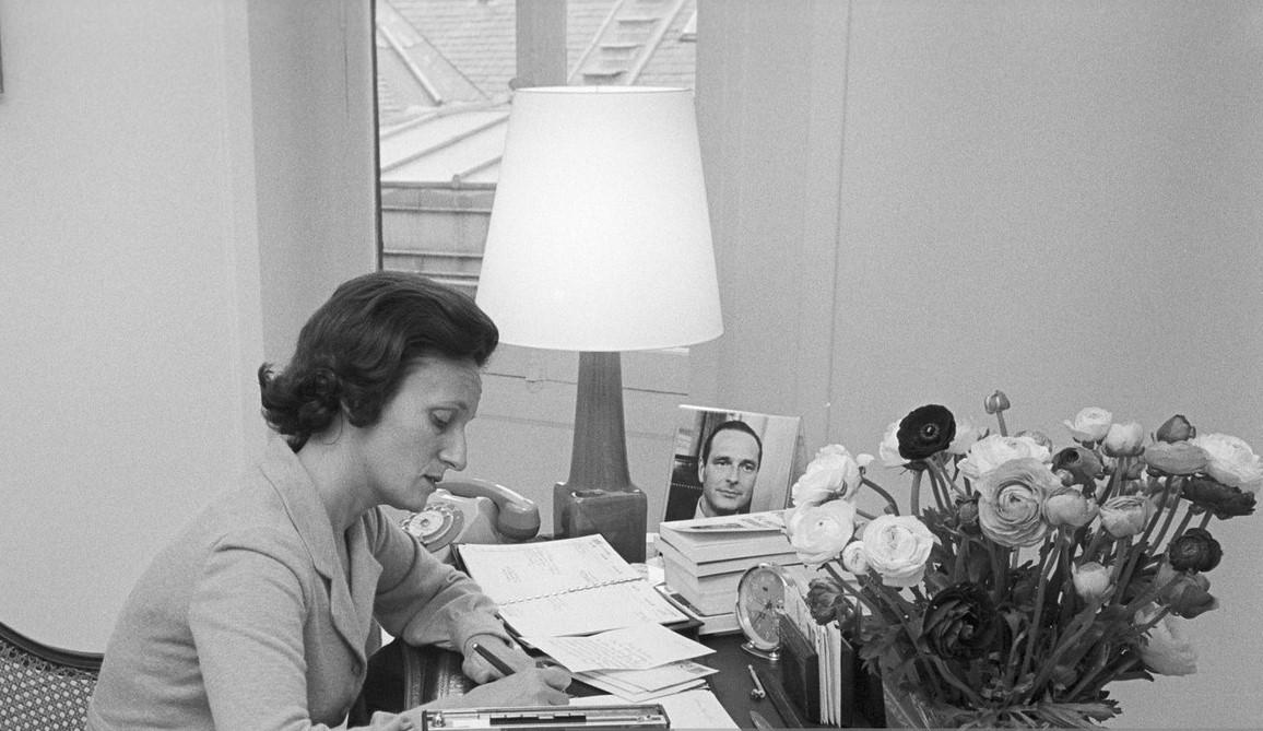 Bernadette Chirac à matignon 1974
