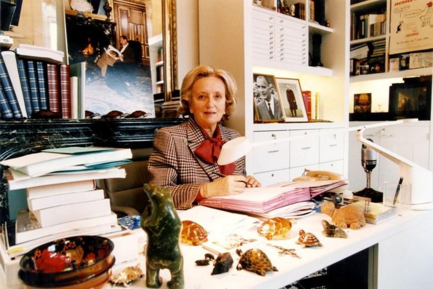 bernadette Chirac Paris-Avril-1995