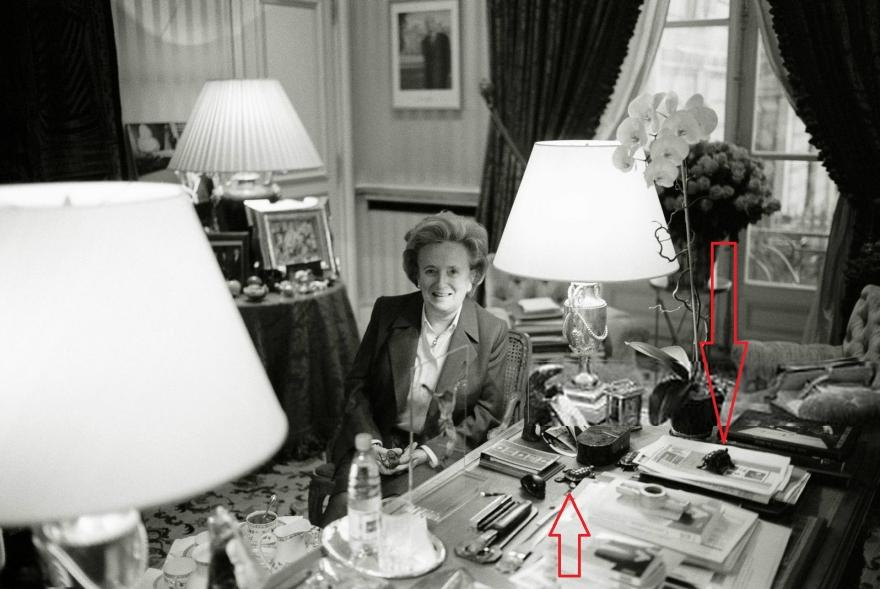 Bernadette chirac tortue Elysée