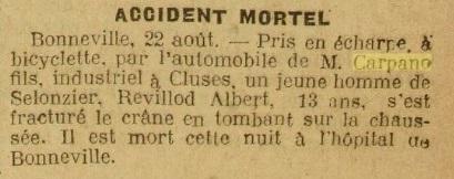 carpano 23 aout 1925