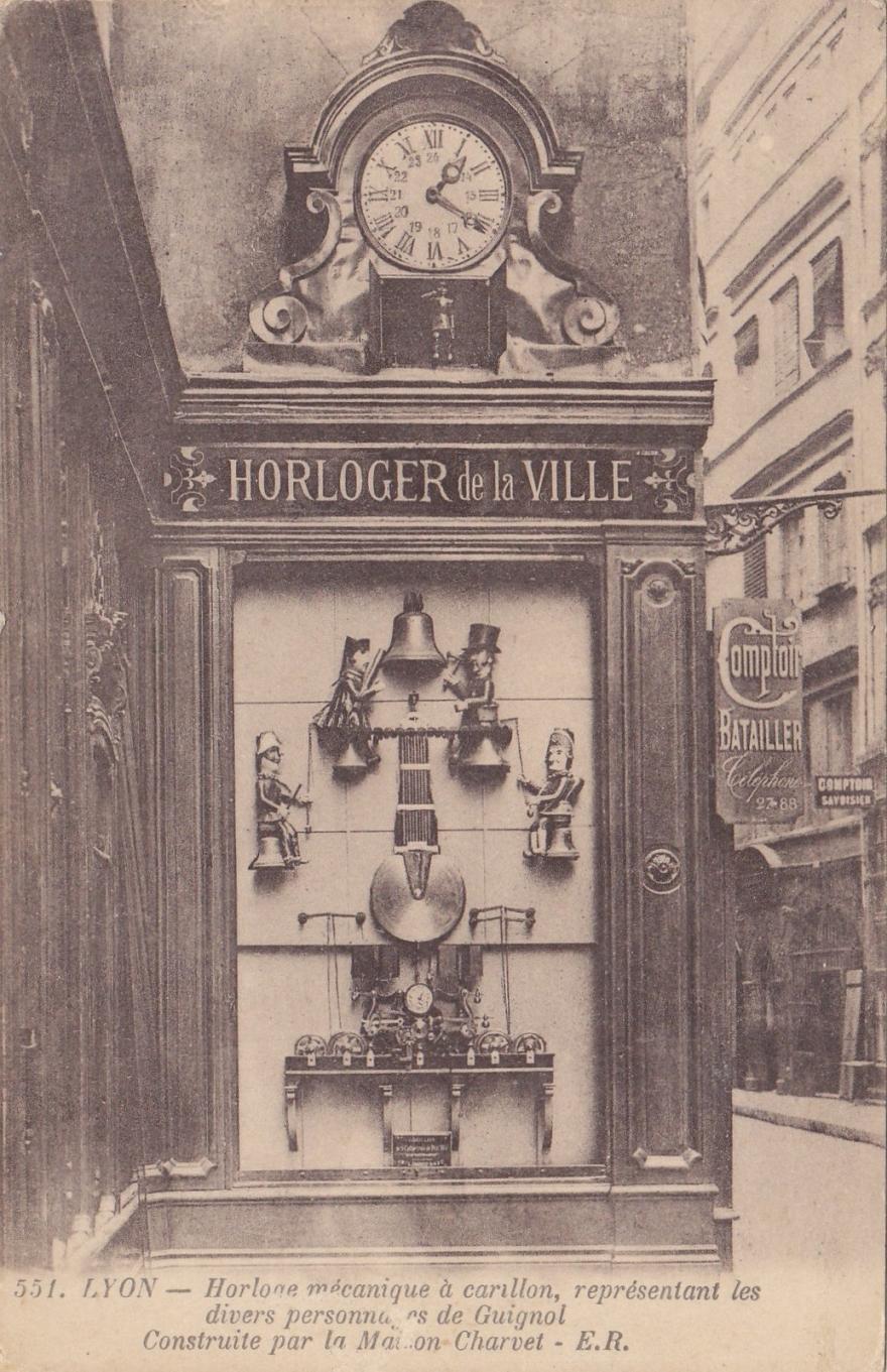 Charvet à Lyon comptoir