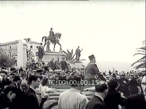 de Gaulle Ajaccio