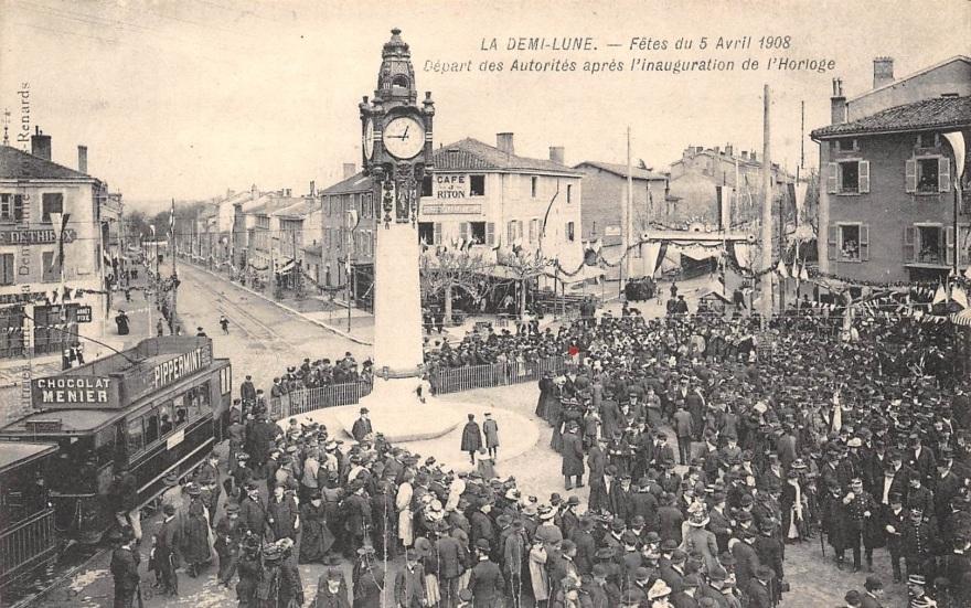 inauguration horloge