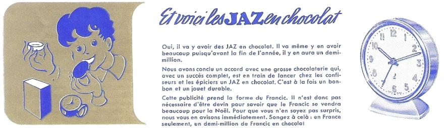 Les Jaz en chocolat