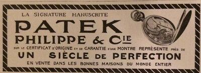 PATEK-PHILIPPE-Cie-watch-ancienne