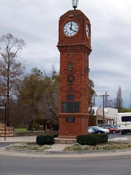 Church & Market Streets, Mudgee, Mid-Western Regional - New South Wales, Australia